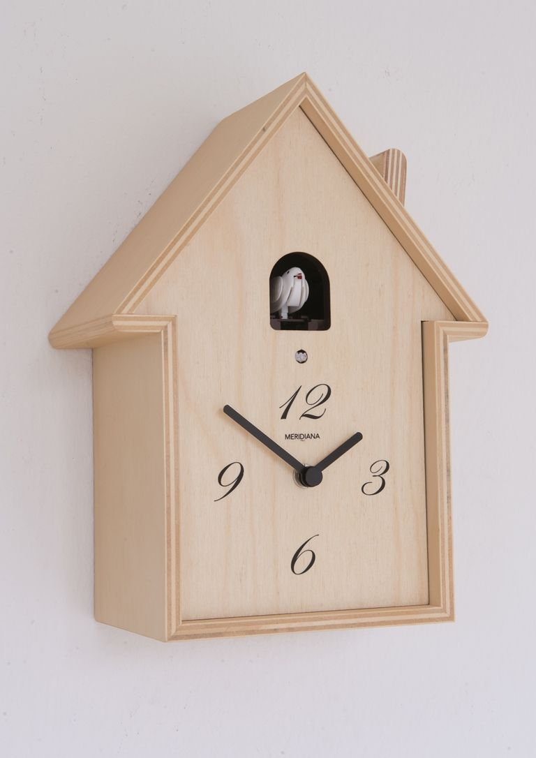 Koekoeksklok in berkhout home kids room pinterest cuckoo buy diamantini domeniconi cuckoo meridiana wall clock in birch from our clocks range at tesco direct amipublicfo Image collections