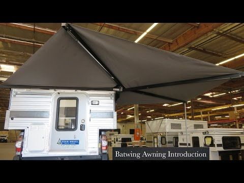 Batwing Awning Introduction Four Wheel Campers Camper Remodeled Campers Awning