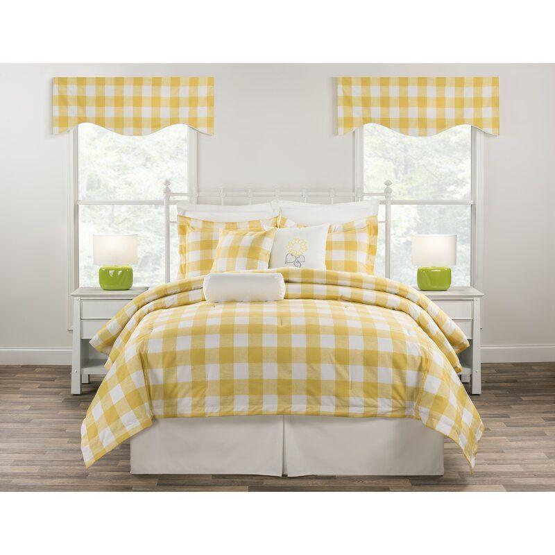 Caballero 52 Window Valance Comforter Sets Yellow Comforter Yellow Bedding