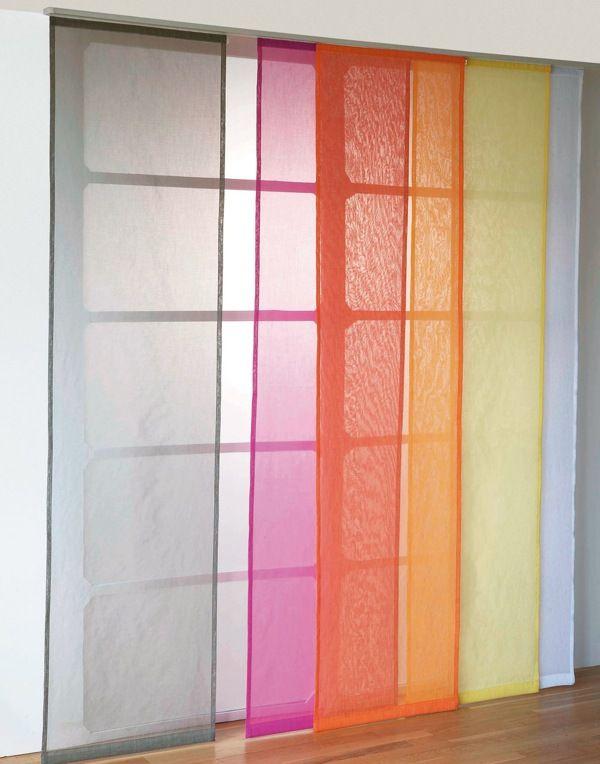 Le panneau japonais innovateur apporte le zen à la maison Deco - fabriquer porte coulissante japonaise
