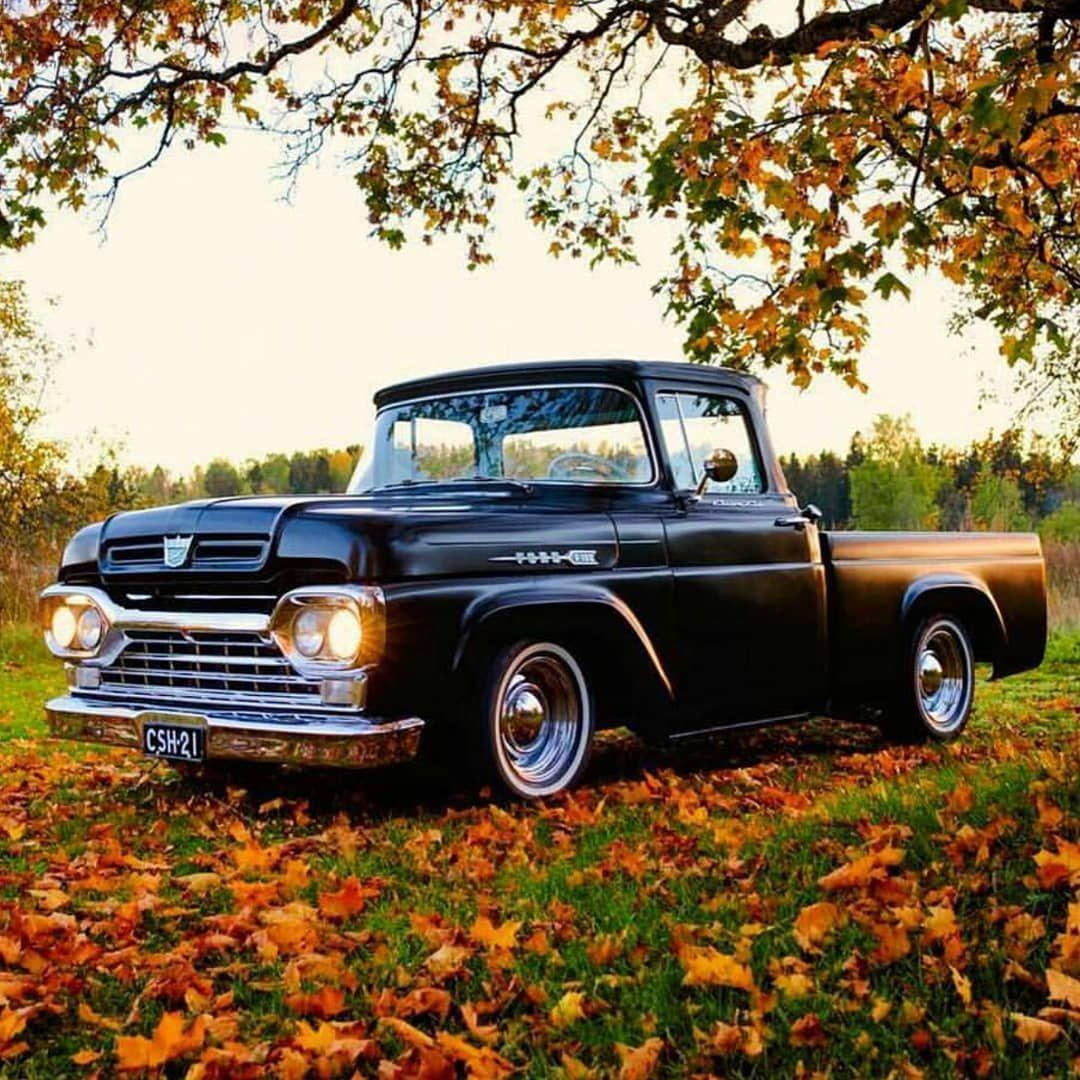 Oldschool Truck Fordf100 Fordclassictruck Ford Fordnation