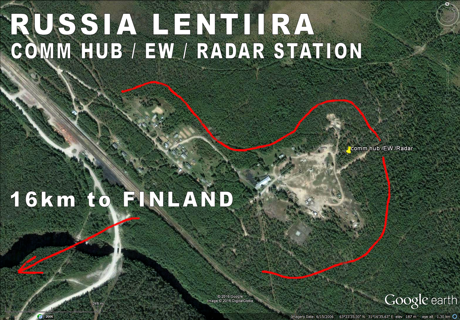 Russia Lentiira Lendery comm hub EW