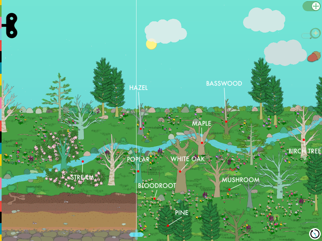 Gorgeous new app for kids that can help identify plants and biomes. Great road trip app when you're in new environments.