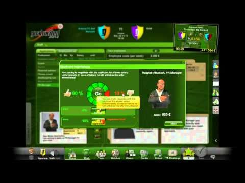 Goalunited - RAW Gameplay 2 - Goalunited 2014 is a Free to Play Browser Based, Football-Manager Game where players often stick around for years to build up a real career