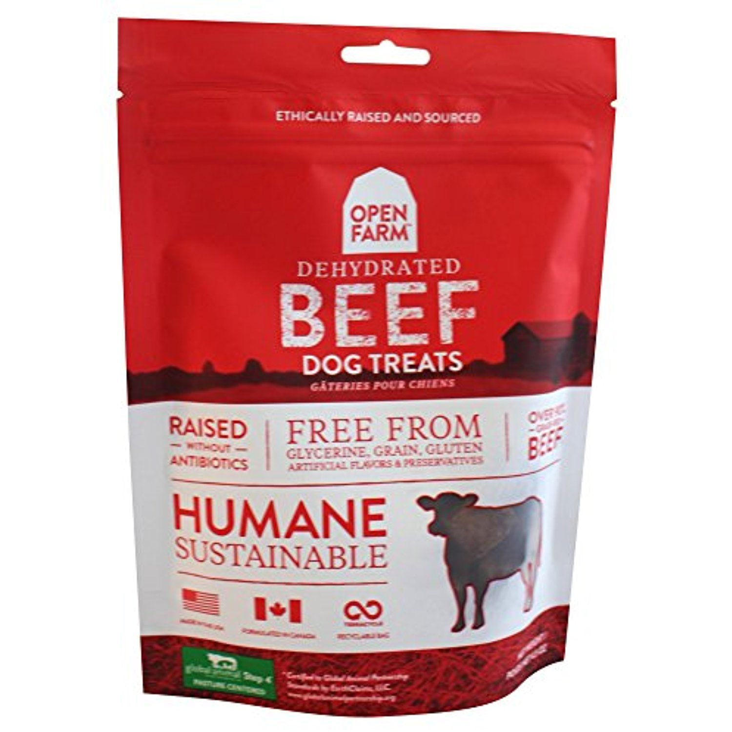 Open farm treat dehydrated beef 45oz you can read