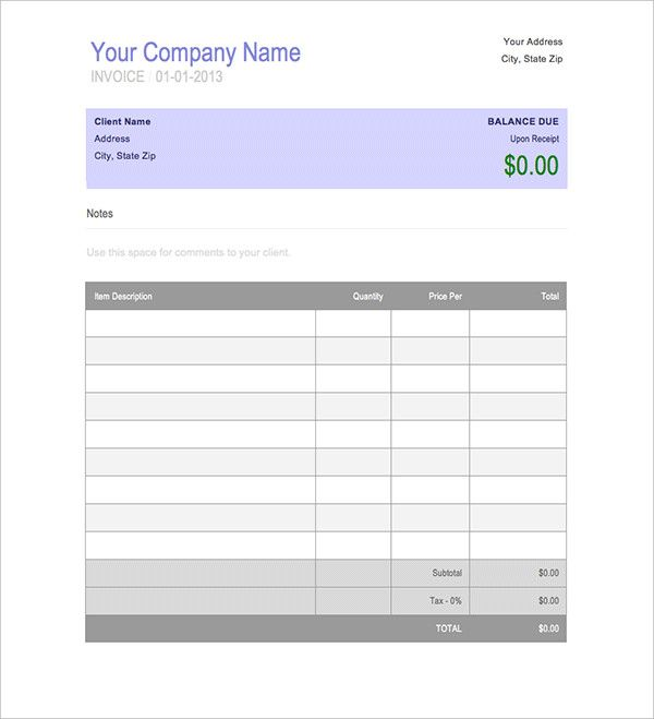 Invoice Book Templates Free Word Pdf Documents Download Record Keeping Template Blank Invoice Template Word Microsoft Word Invoice Template Estimate Template