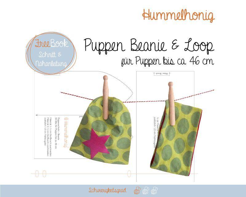 puppenschnitt beanie und loop n hen pinterest baby born plushies and dolls. Black Bedroom Furniture Sets. Home Design Ideas