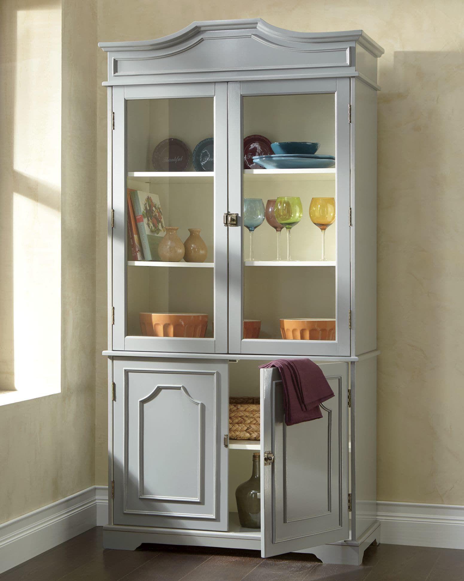 Admirable Chadwick Gray Hutch From Montgomery Ward S9741195 Interior Design Ideas Skatsoteloinfo
