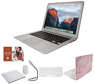 "Apple MacBook Air 13"" Laptop w/ Clip Case, Wireless Mouse"