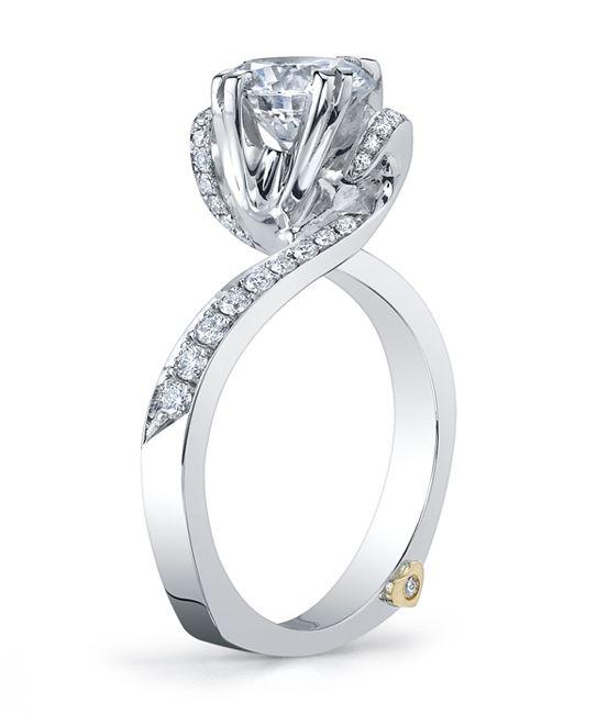 Whimsical Engagement Ring Mark Schneider