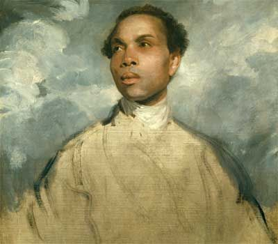 Joshua Reynolds - Study of a black man