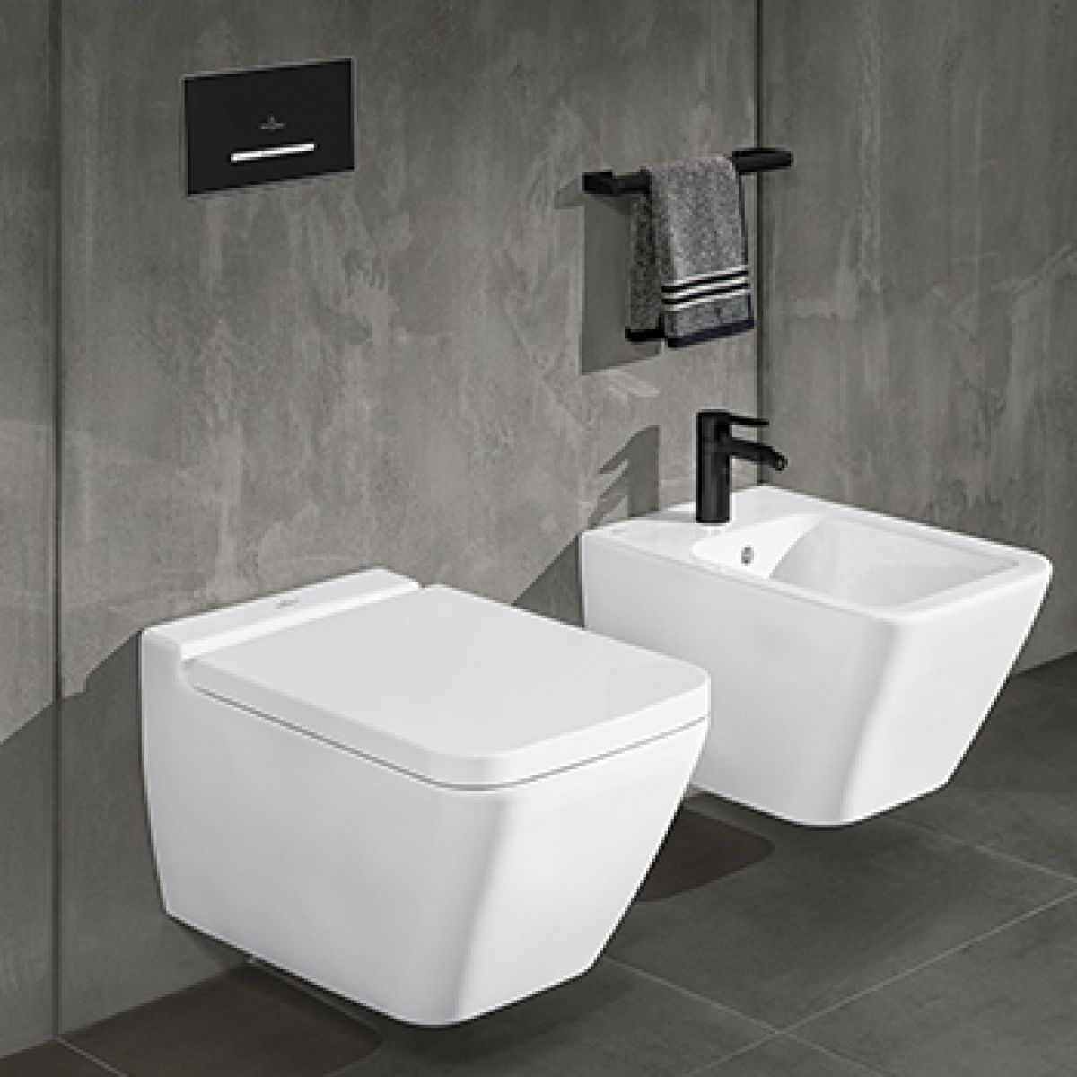 Villeroy Boch Finion Wall Mounted Toilet Rimless Toilet