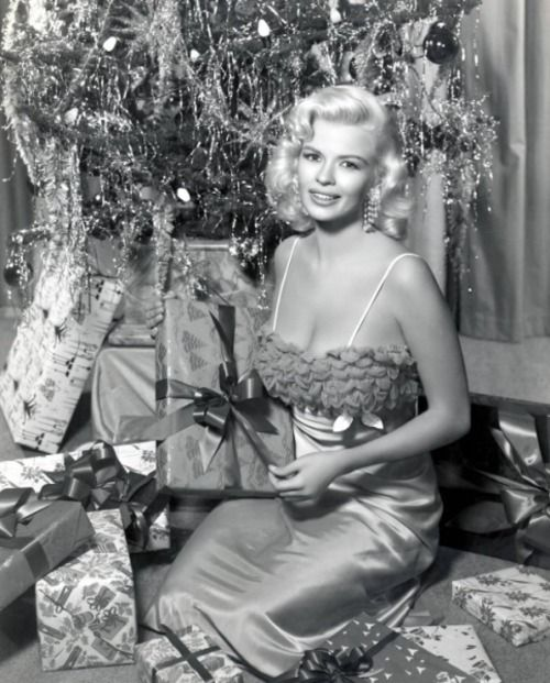 Jane Mansfield Christmas 1950s | Hollywood Christmas | Pinterest ...