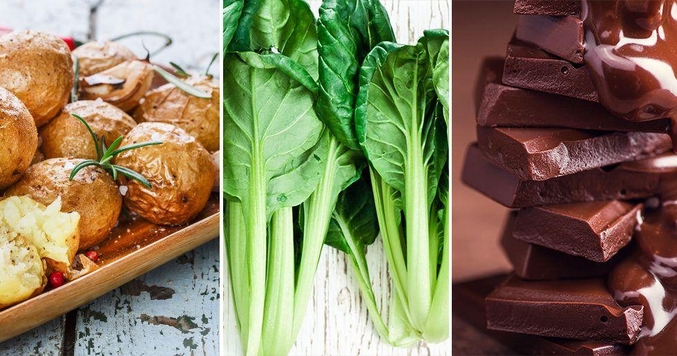grönsaker som innehåller järn