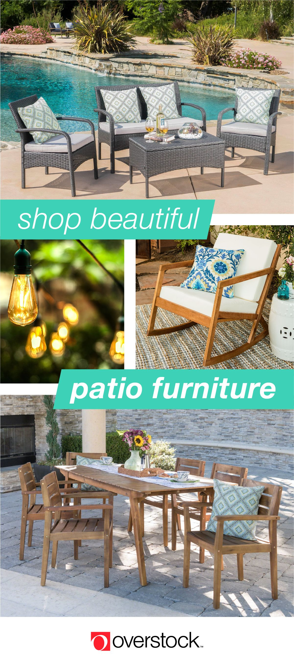 Find Amazing Deals On Stylish Patio Furniture And Decor At Overstock