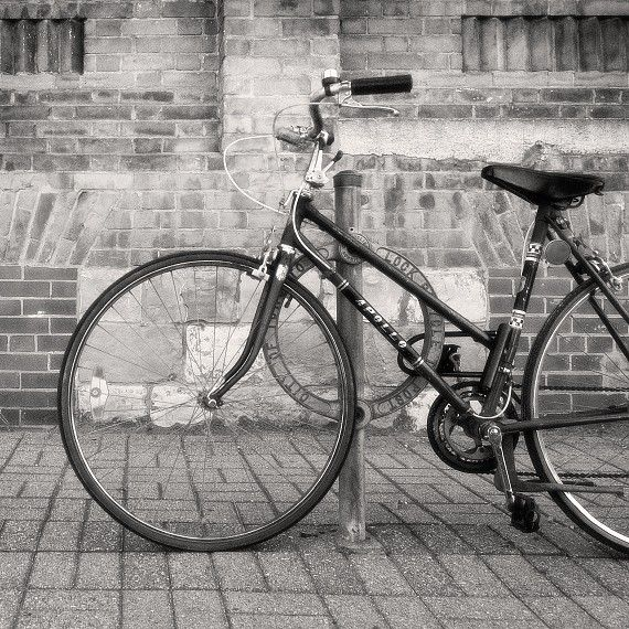 Black And White Photography Soon We Ride Bicycle Photography