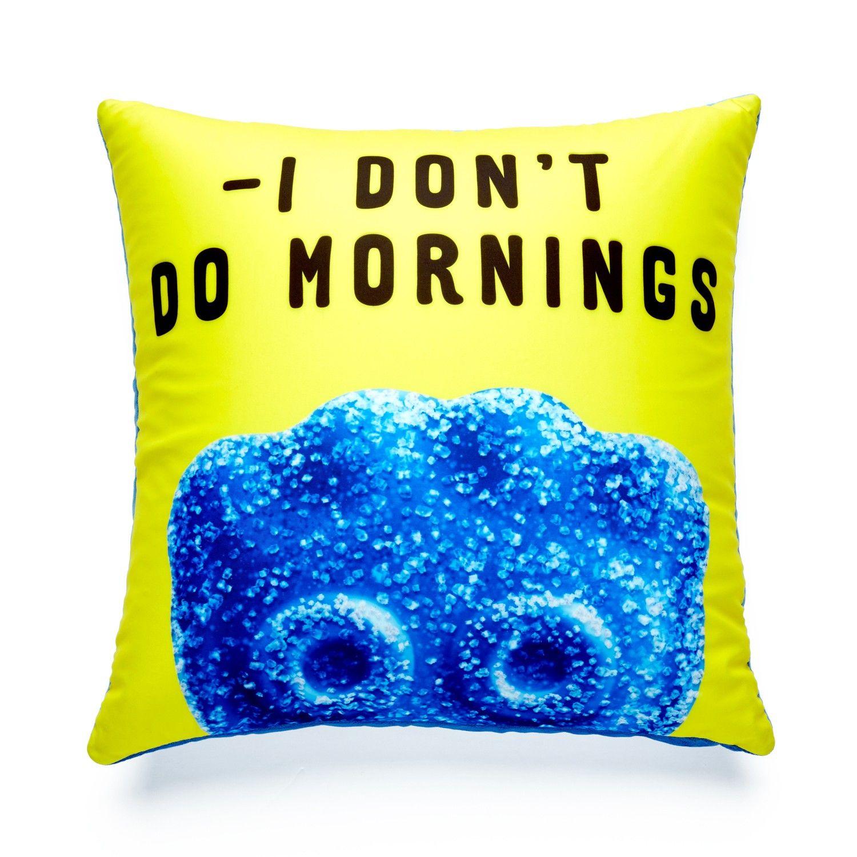 Sour Patch Kids Don T Do Mornings Pillow Sour Patch Kids Pillows Kids