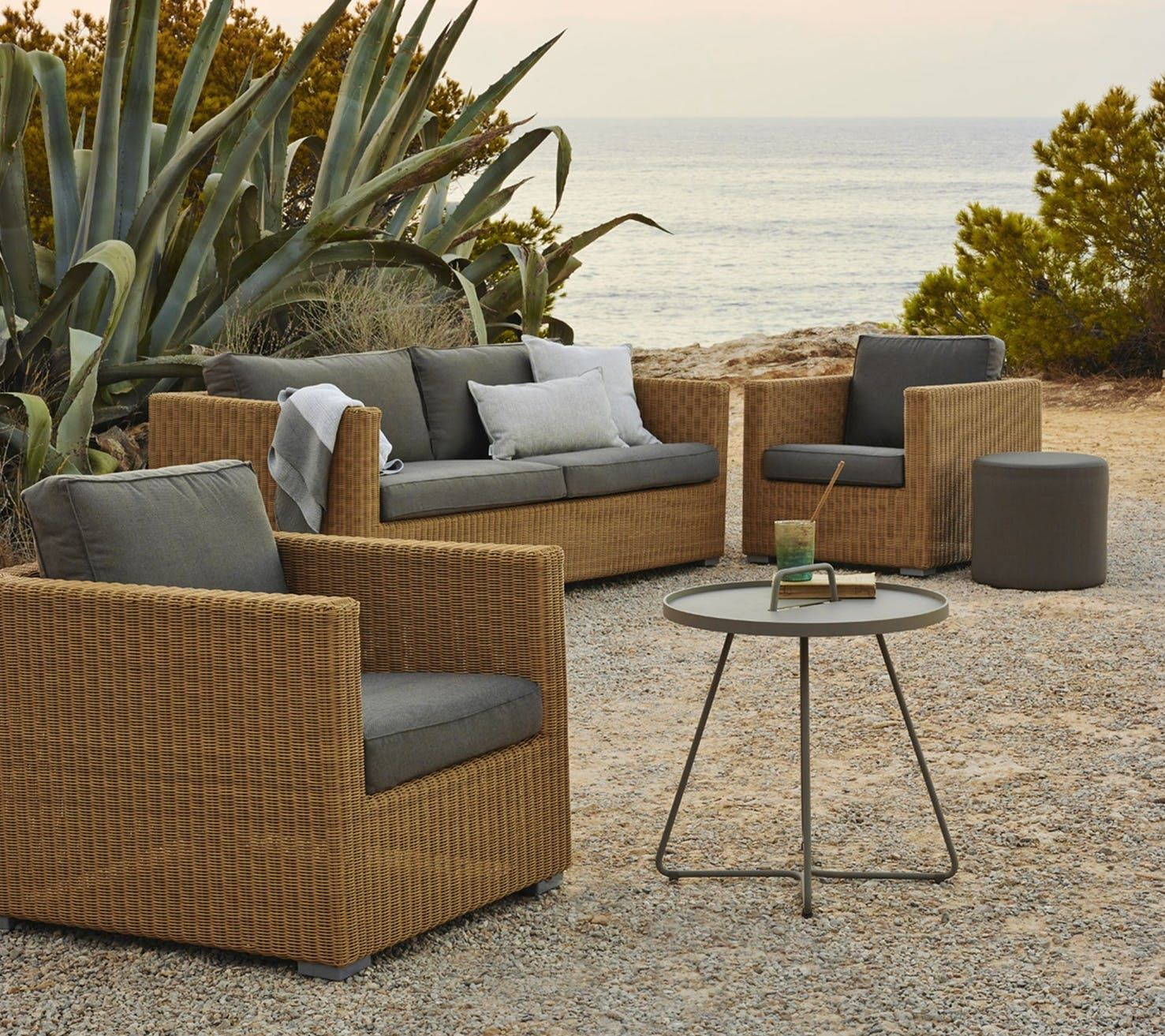Chester Armchair By Cane Line Outdoor Furniture Sets Outdoor Sofa Willow House