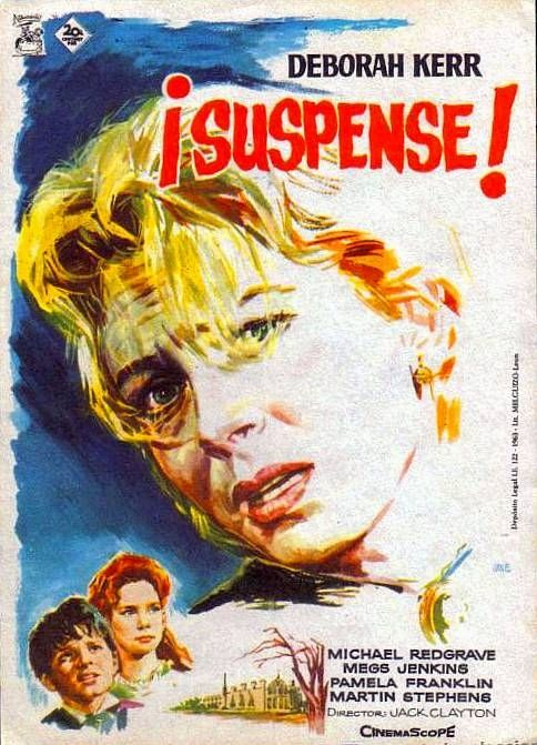 Suspense The Innocents 1961 Adaptación De La Novela De Henry James The Turn Of The Screw Otra Vuelta De Tuerca Dirigida Por Jack Clayton Un Lugar En La Cu
