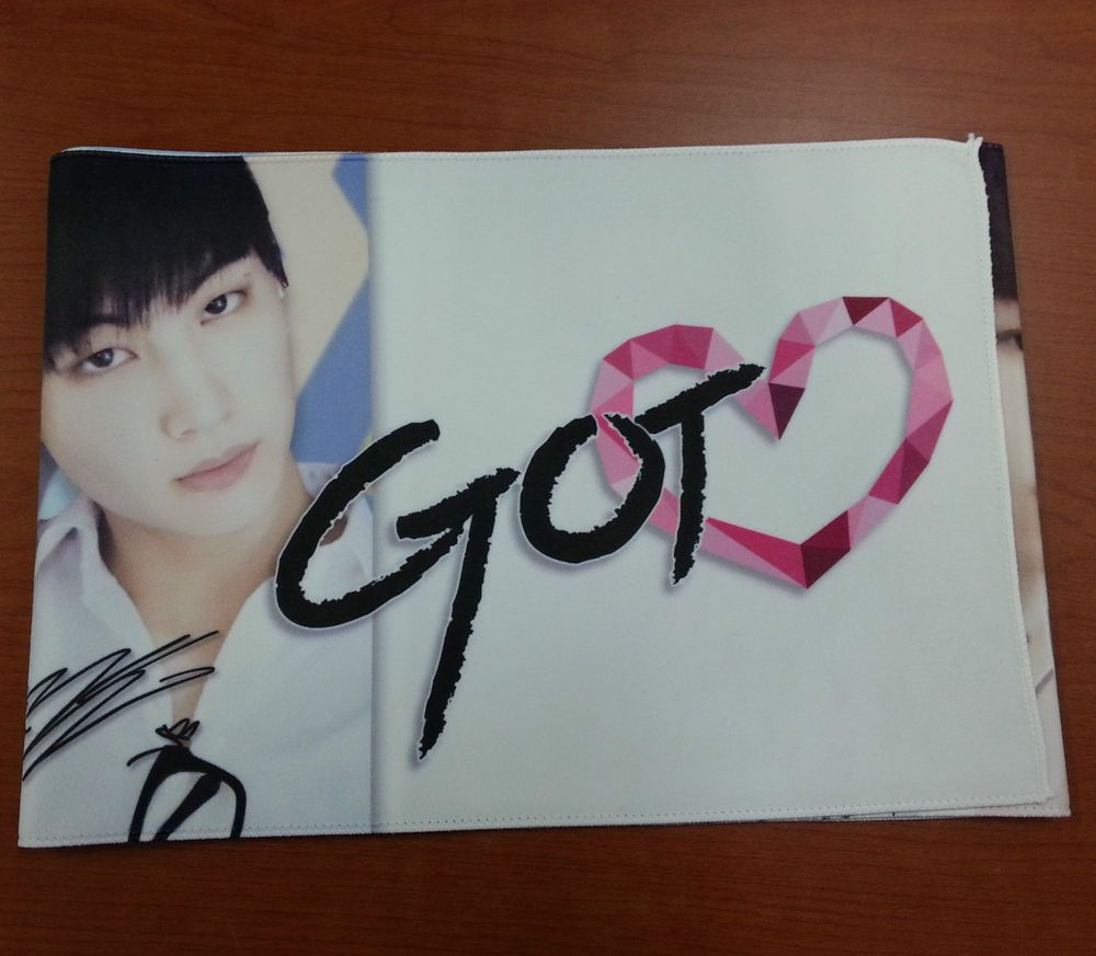 Details about GOT7 Photo Slogan Towel 100cm x 20cm single-layer KPOP