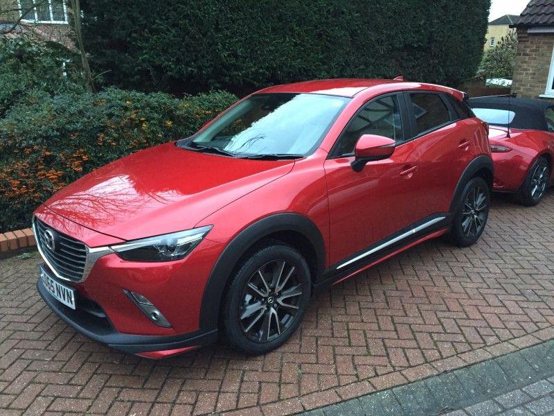 2016 Mazda CX3, sport nav, soul red Mazda cx3, Mazda, Bmw
