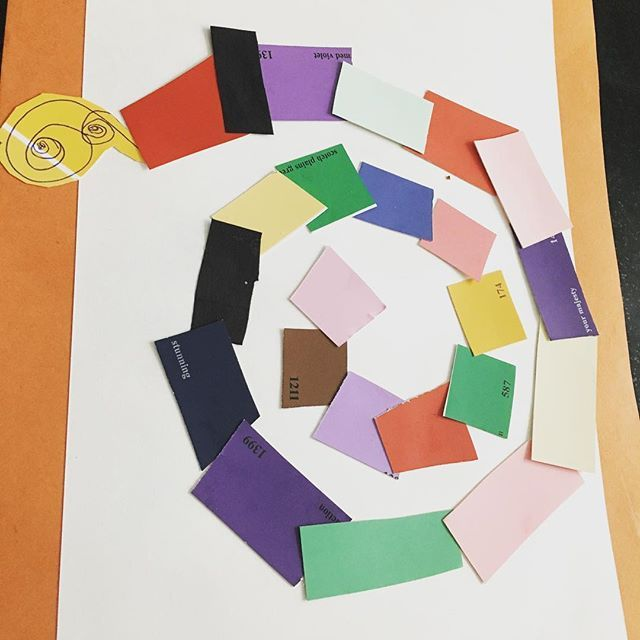 Henri Matisse Snail from our last summer Holiday to Tate Modern in ...
