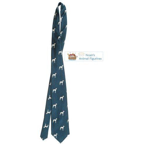 Greyhound Tie Mens Dog Breed Neck Tie
