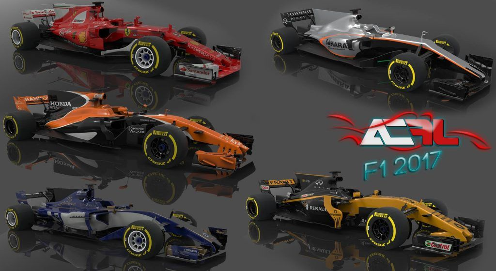 F1 2017 mod coming to Assetto Corsa and rFactor 2 | Pitlanes com