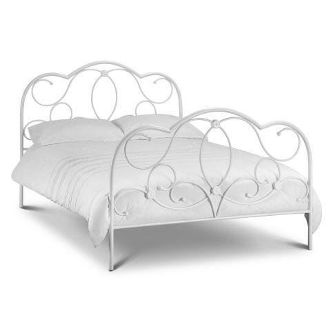 Arabella Stone White Bed Frame A Dream House White Metal