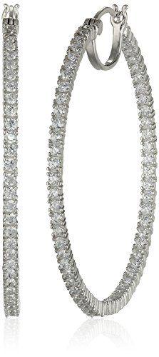 Rhodium Plated Sterling Silver Cubic Zirconia 2mm Hoop Ea... http://www.amazon.com/dp/B00QRJMM2W/ref=cm_sw_r_pi_dp_SuCrxb1F9AE91