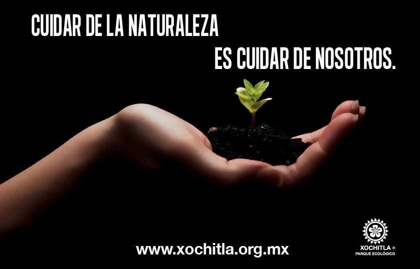 Cuidar de la naturaleza es cuidar de nosotros.