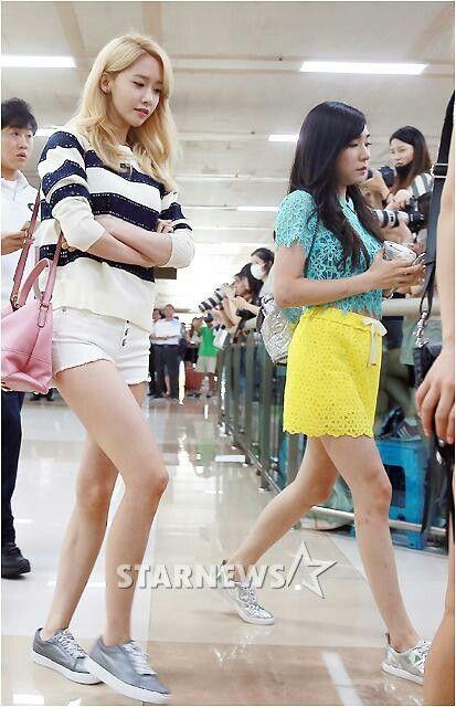 Yoona fashion airport