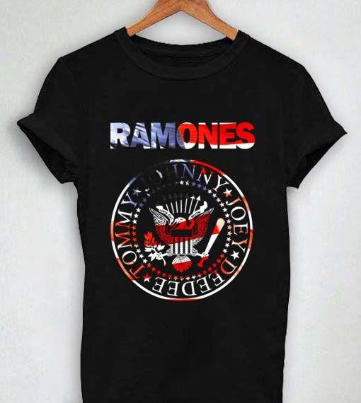 4677acfc93e9 Unisex Premium Ramones Tshirt T-shirt Logo   Price   13.50     supply