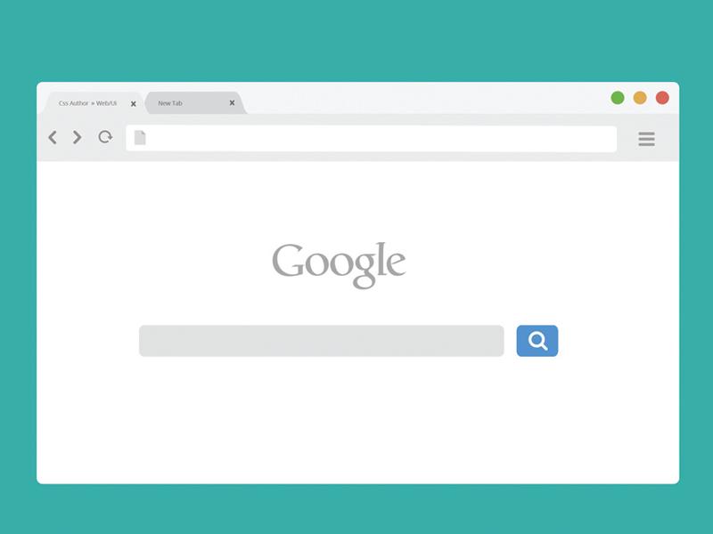 Free Chrome Browser Mockup Light Version Browser Aesthetic Words Mockup