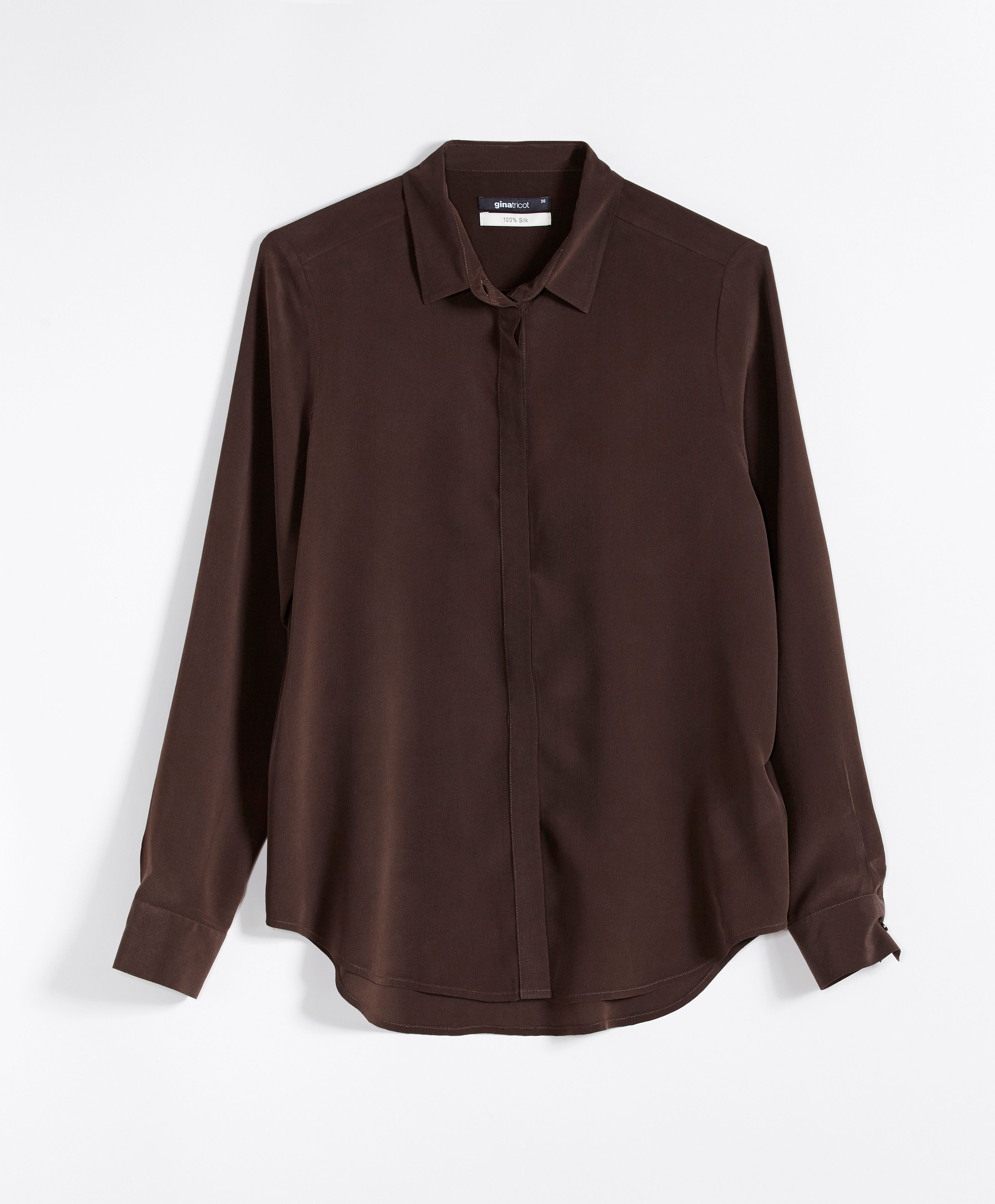 4529ef19540866 Silk shirt | Gina Tricot Collections | www.ginatricot.com | #ginatricot
