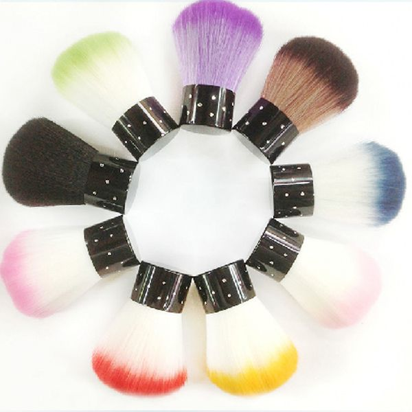 Colorful Nail herramientas Cepillo Para El Acrílico y UV Gel Nail ...
