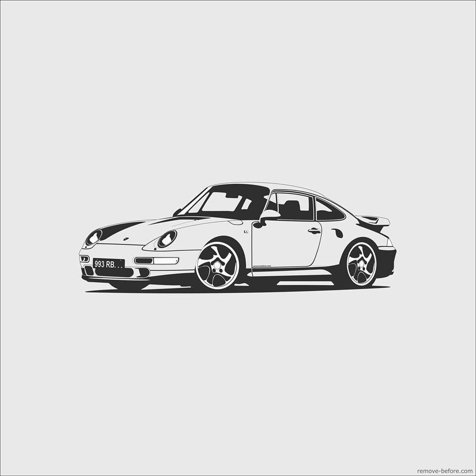 Porsche in art porsche art porsche art pinterest - Dessin de porsche ...