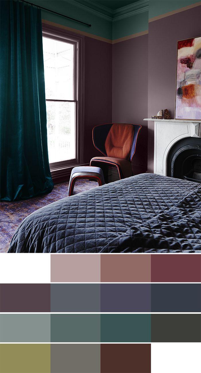 Trend Scout: Dulux 2018 interiors colour trends | Interior colors
