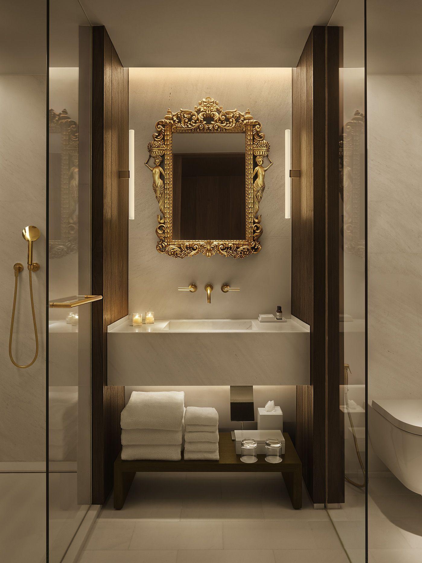 Bathroom  Edition hotel, Luxury bathroom master baths, Bathroom