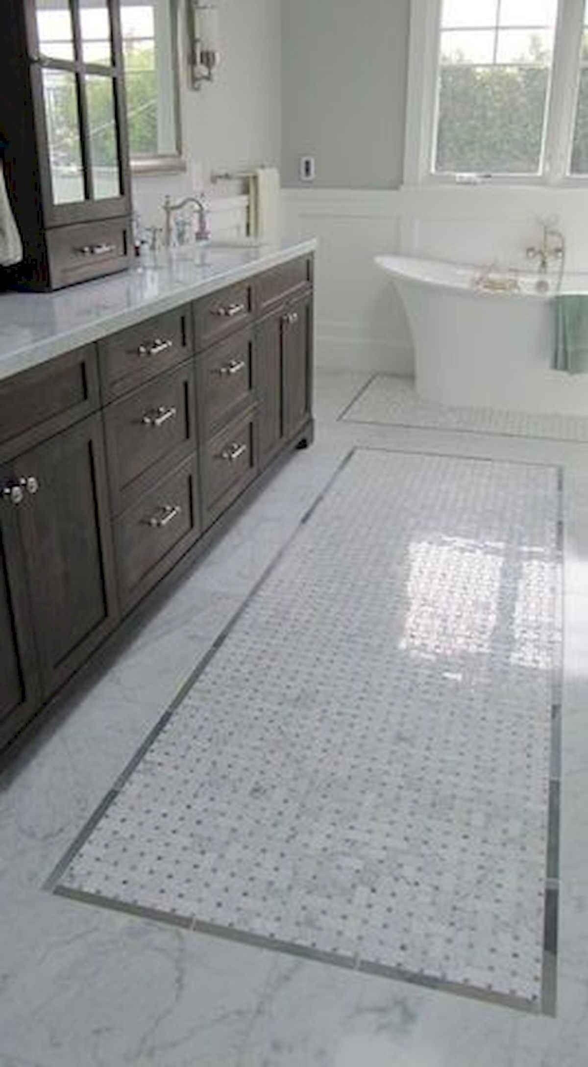20 Best Tile Rug Inlay Bathroom Decor Ideas bathroom 20