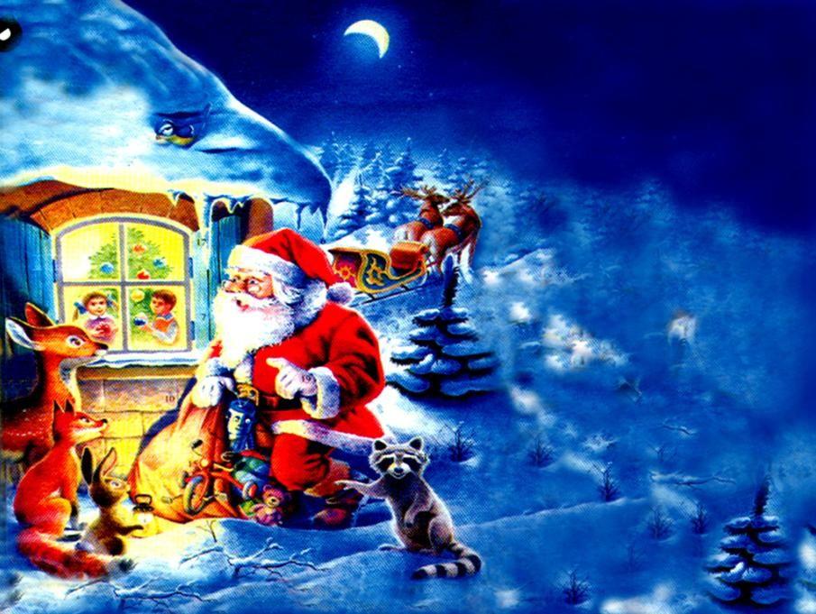 Santa Claus Hd Desktop Wallpaper Santa Claus Pictures Santa Claus Pictures Image Santa Claus