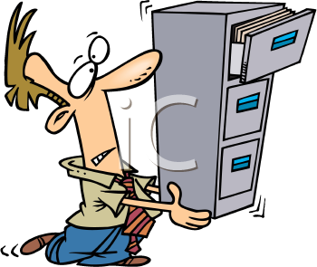 Iclipart Com Royalty Free Clipart Image Of A Man Carrying A File Cabinet Royalty Free Clipart Free Clipart Images Clip Art