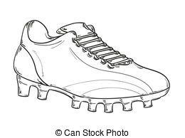 Football Boots Clipart And Stock Illustrations 619 Football Boots Vector Eps Illustrations And Drawings Available To Sea Shoe Art Shoe Template Football Boots