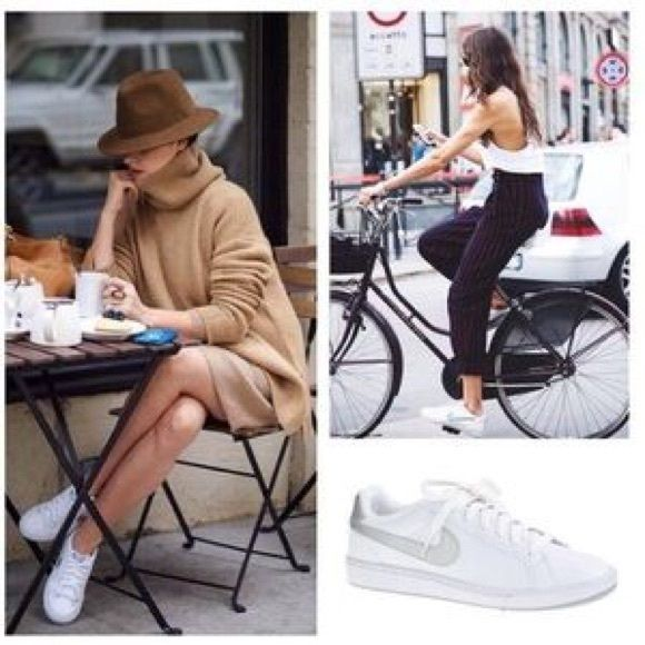 Nike White Sneakers Court Royale in