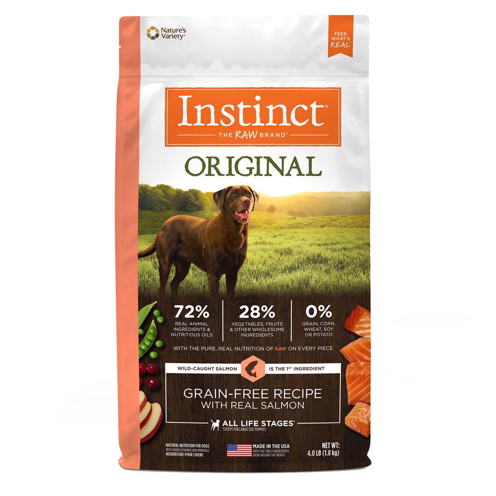 Nature S Variety Instinct Original Dog Food Natural Grain Free