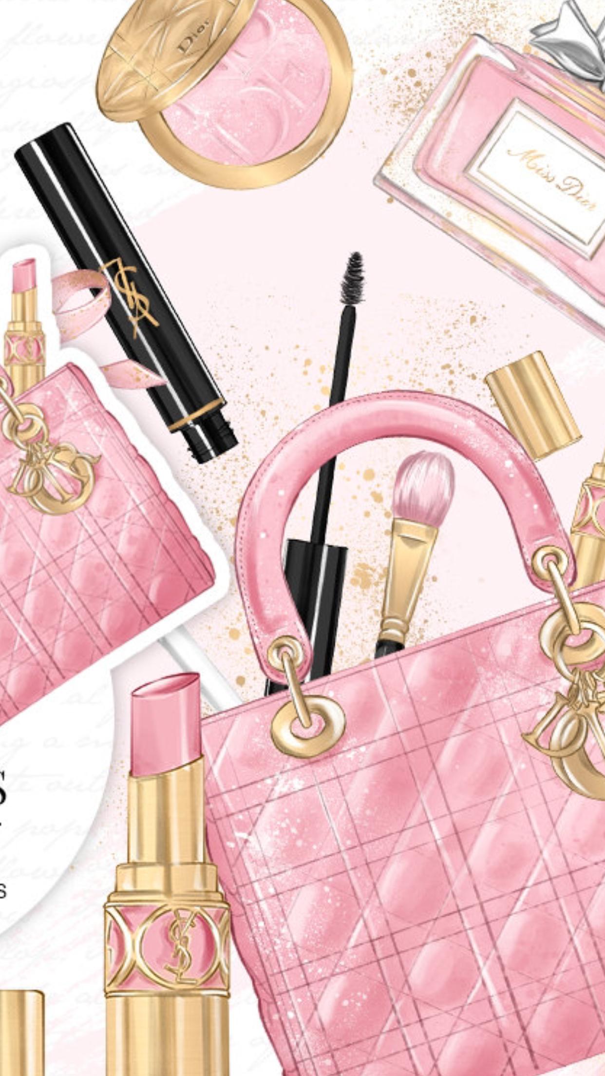 Makeup Wallpaper: Makeup Iphone Wallpapers
