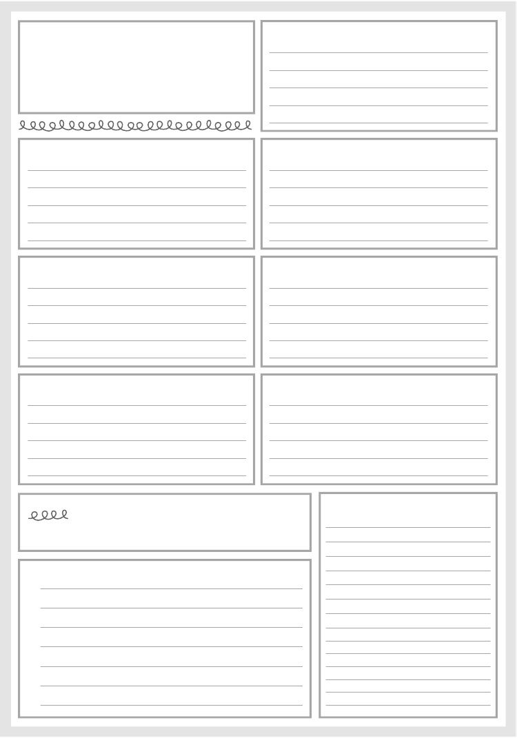 Weekly Planner Pages - again, maybe for prayer requests or copying down scriptures