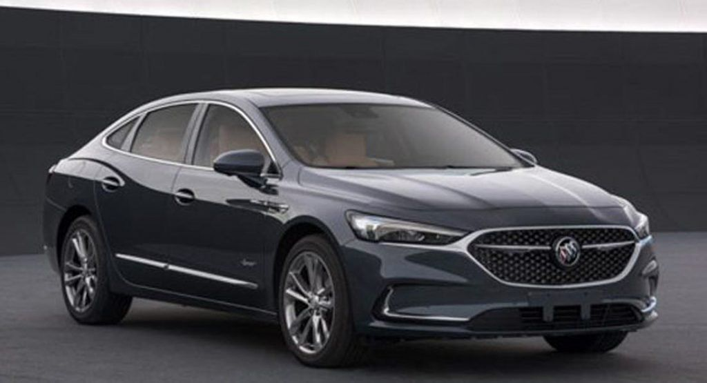 2020 Buick Lacrosse Say Hello To The Facelifted Model With Images Buick Lacrosse Buick Buick Lesabre