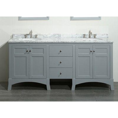 Found It At Wayfair New York 72 Double Bathroom Vanity Set