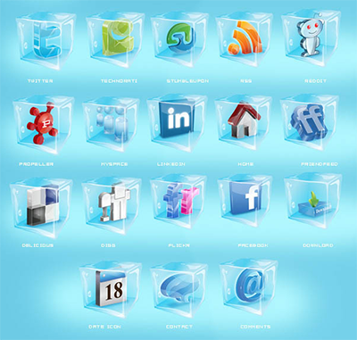 Lots Of Our Favourite Free Premium Social Media Icon Sets